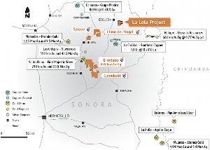 La Lola Gold-Silver Project in Sonora, Mexico Acquired by Evrim Resources Corp.