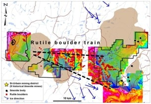 Vior Starts its Summer 2019 Drill Program at Foothills Rutile Project