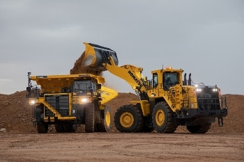 Komatsu America's New HD785-8 off-highway Truck with High Horsepower