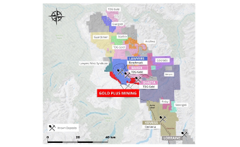 Gold Plus Mining Begins Work Program on its Lawyers East and West Properties