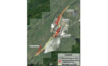 Troilus Gold Begins New Drill Program at its Quebec Property