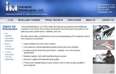 Industrial Metallurgists