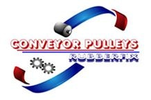 Conveyor Pulleys Rubberfix Pty Ltd logo.