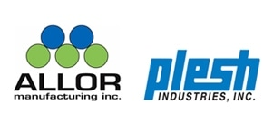 Allor Manufacturing / Plesh Industries logo.