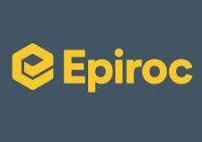 Epiroc UK & Ireland Limited logo.