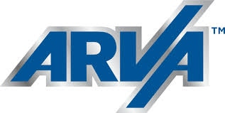 ARVA Industries Inc. logo.
